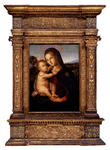 Bernardino Pinturicchio - The Madonna and child before a landscape