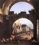 Bernardo Bellotto - Capriccio of the Capitol