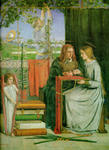 Dante Gabriel Rossetti - The Childhood of Mary Virgin