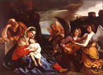 Guercino (Barbieri, Giovanni Francesco) - The Rest on the Flight into Egypt 1