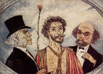 James Ensor - Ecce Homo (Christ and the Critics)
