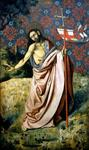 Robert Campin (Master Of Flemalle) - Resurrected Christ