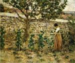 Theodore Robinson - In the Garden