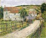 Theodore Robinson - The Old Mills of Brookville (aka Vieux Moulin)