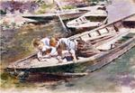 Theodore Robinson - Two in a Boat