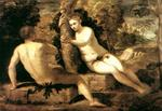 Tintoretto (Jacopo Comin) - Adam and Eve