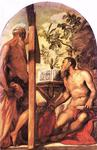 Tintoretto (Jacopo Comin) - St. Jerome and St. Andrew