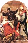 Tintoretto (Jacopo Comin) - St. Louis St. George and the Princess