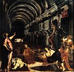 Tintoretto (Jacopo Comin) - St. Mark Working Many Miracles