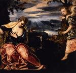 Tintoretto (Jacopo Comin) - The Annunciation to Manoah-s Wife
