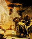 Tintoretto (Jacopo Comin) - The Stealing of the Dead Body of St. Mark