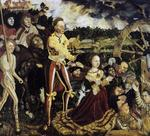 Lucas Cranach The Elder - The Martyrdom of St Catherine 1