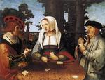 Lucas Van Leyden - The Card Players 3