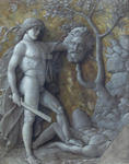 Andrea Mantegna - David with Goliath-s head