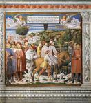 Benozzo Gozzoli - St Augustine Departing for Milan (scene 7, south wall)
