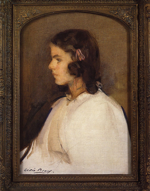 Miss Gilder (Aka Francesca Gilder) by Cecilia Beaux (1855-1942, United States) | Painting Copy | WahooArt.com