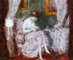 Frederick Carl Frieseke - Woman At A Dressing Table