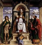 Giambattista Cima Da Conegliano - St Peter Enthroned with Saints
