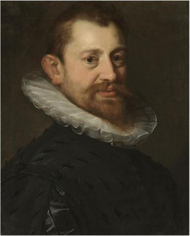 'Portrait of a gentleman', Oil by Hans Von Aachen (1552-1615, Germany)