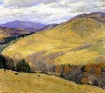 Willard Leroy Metcalf - Vermont Hills, November