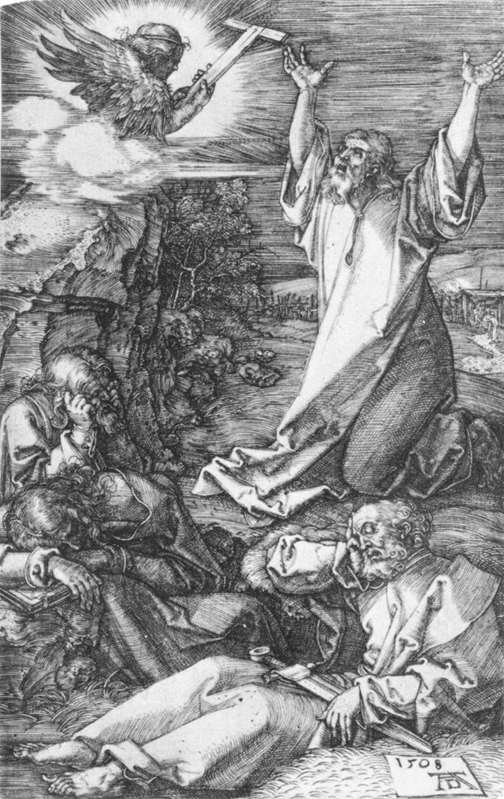 Agony In The Garden 1 by Albrecht Durer (1471-1528, Germany) | WahooArt.com