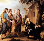 Bartolome Esteban Murillo - Abraham and the angels