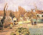 Camille Pissarro - Kitchen Garden at the Hermitage, Pontoise
