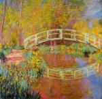 Claude Monet - The Japanese Bridge at Giverny