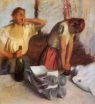 Edgar Degas - Laundry Girls Ironing 1