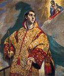 El Greco - Dominikos Theotokopoulos - Apparition of the Virgin to St Lawrence