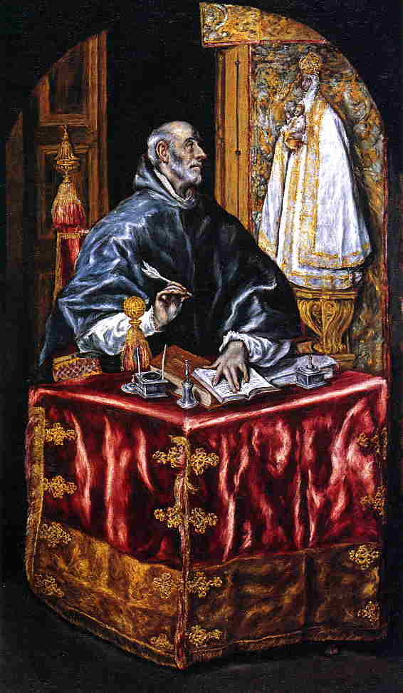 'Saint Ildefonso' by El Greco - Dominikos Theotokopoulos (1541-1614, Spain)