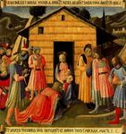 Fra Angelico - Adoration of the magi 4