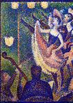 Georges-Pierre Seurat - Study for Le Chahut