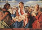 Giovanni Bellini - Madonna and Child with St. John the Baptist and a Saint