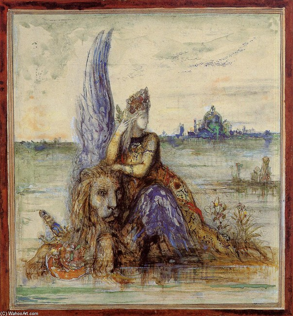 Venice by Gustave Moreau (1826-1898, France) | Museum Quality Reproductions | WahooArt.com