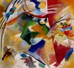 Kandinsky - Painting with Green Center