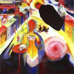 Kandinsky - Woman in Moscow