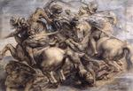 Leonardo Da Vinci - The Battle of Anghiari (detail)