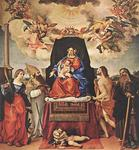 Lorenzo Lotto - Madonna and Child with Saints 2