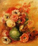 Pierre-Auguste Renoir - Still Life with Roses 1