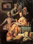 Rembrandt Van Rijn - Music Workshop