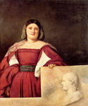 Titian - Tiziano Vecelli - Portrait of a Woman