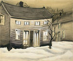 Charles Burchfield - Cat Eyed House