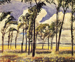 Charles Burchfield - June Wind