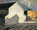 Charles Burchfield - Noon Whistle In January