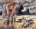 Charles Burchfield - North Wind In March
