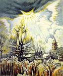 Charles Burchfield - November Sun Emerging