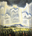 Charles Burchfield - Overhanging Cloud In July