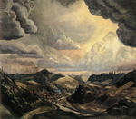 Charles Burchfield - Storm Over Irondale