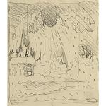 Charles Burchfield - Study For Thunderclap In Winter
